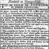 1800 Reading Mercury Sale of Barrett's Shop