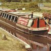 LP035 Horse-drawn barge Kennet Valley, 1975